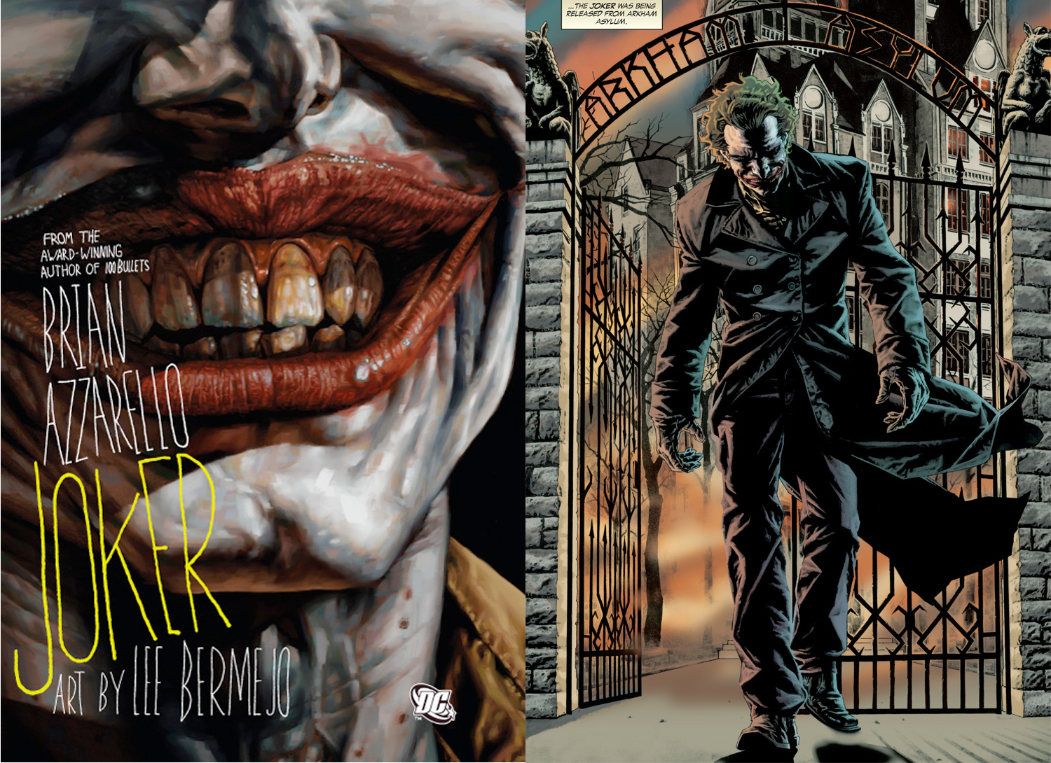 The Joker Brian Azzarello and Lee Bermejo