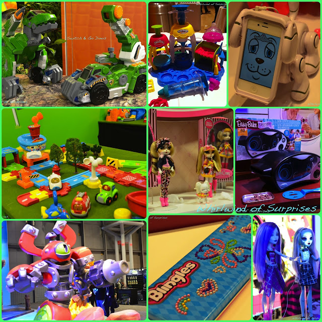 New toys from Hasbro, Bandai, Mattel, VTech, Moose Toys, Skylanders, and The Bridge