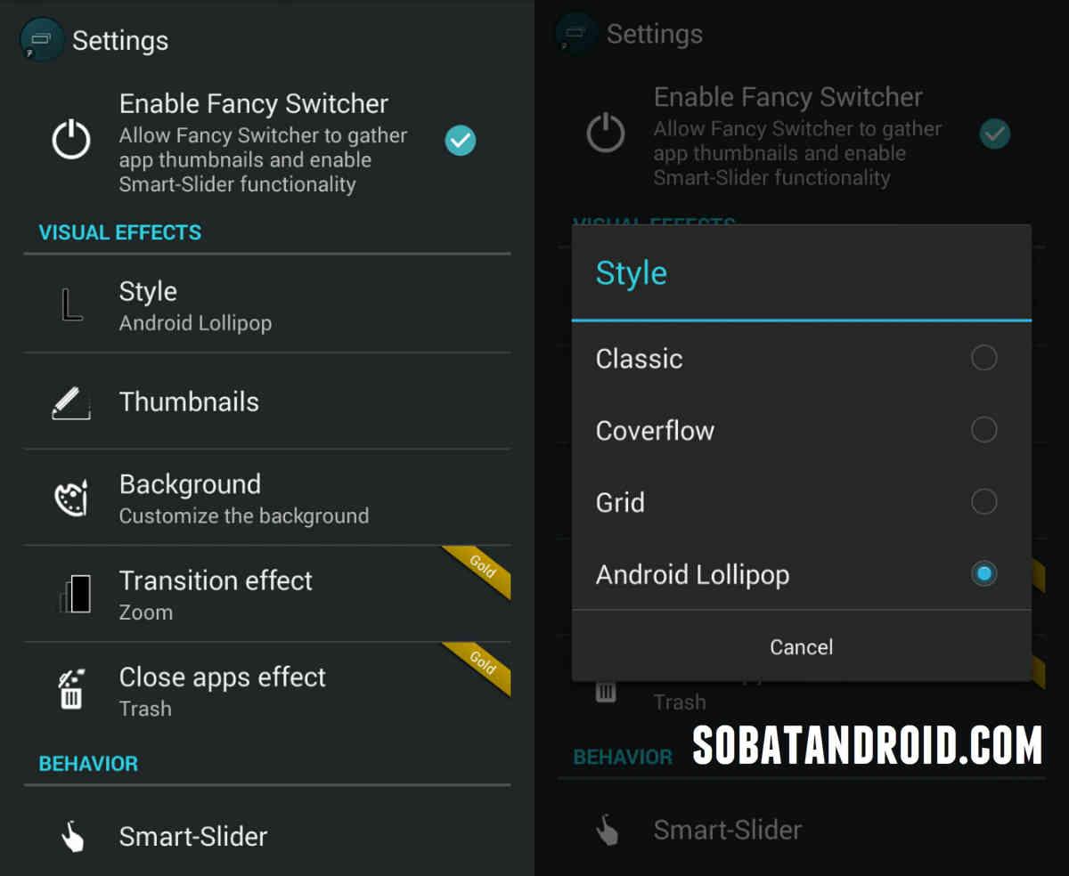 Cara Mengubah Recent Apps ASUS Zenfone Seperti Lollipop