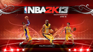NBA 2K13 Lakers Startup Screen