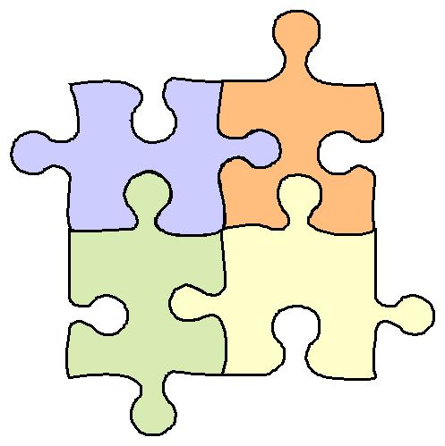 Auto Shape Puzzle Free Clipart