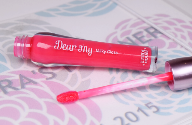 etude house dear my milky gloss review