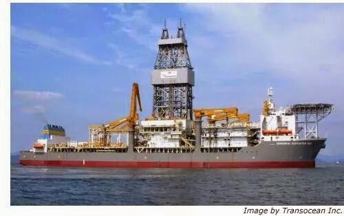Transocean Drill Ship