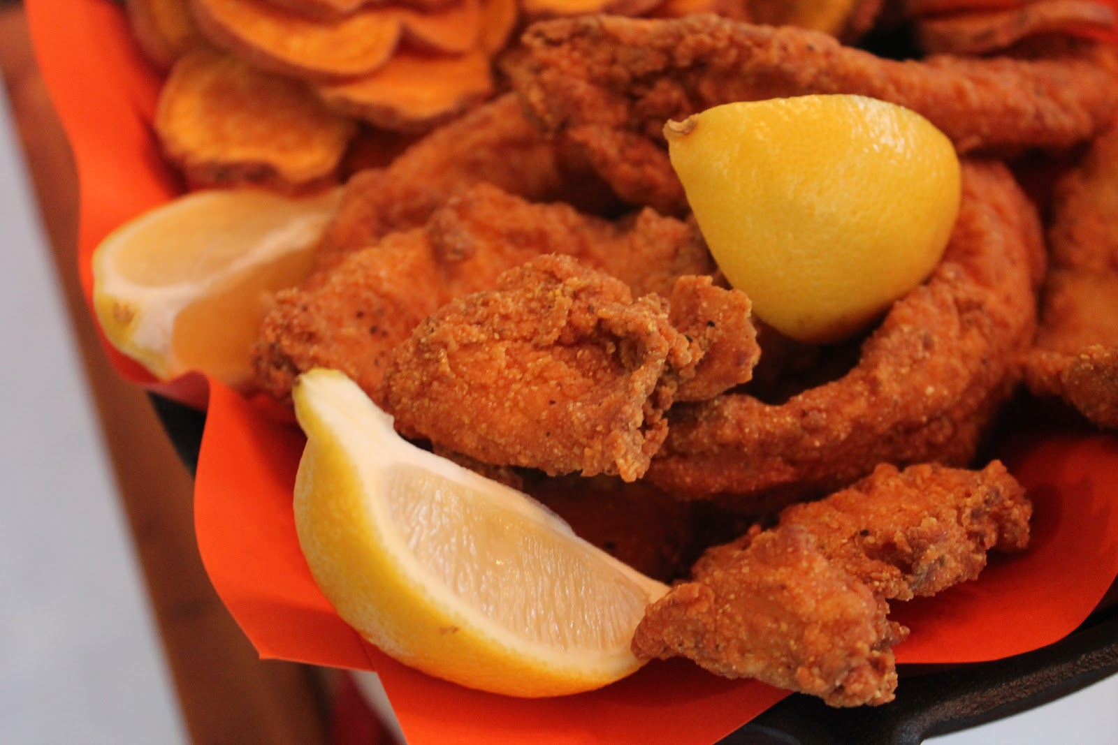 Creole contessa creole fried fish for What to eat with fried fish