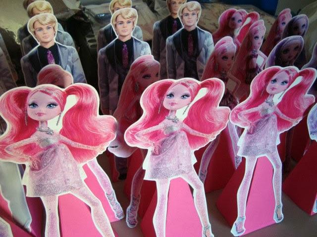 cones para guloseimas barbie moda e magia