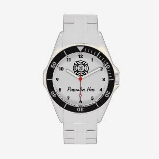Firefighter Watch Personalized