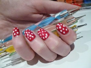 Cara Pakai Dotting Tools Set For Nail Art Alat Penghias Kuku Terbaru