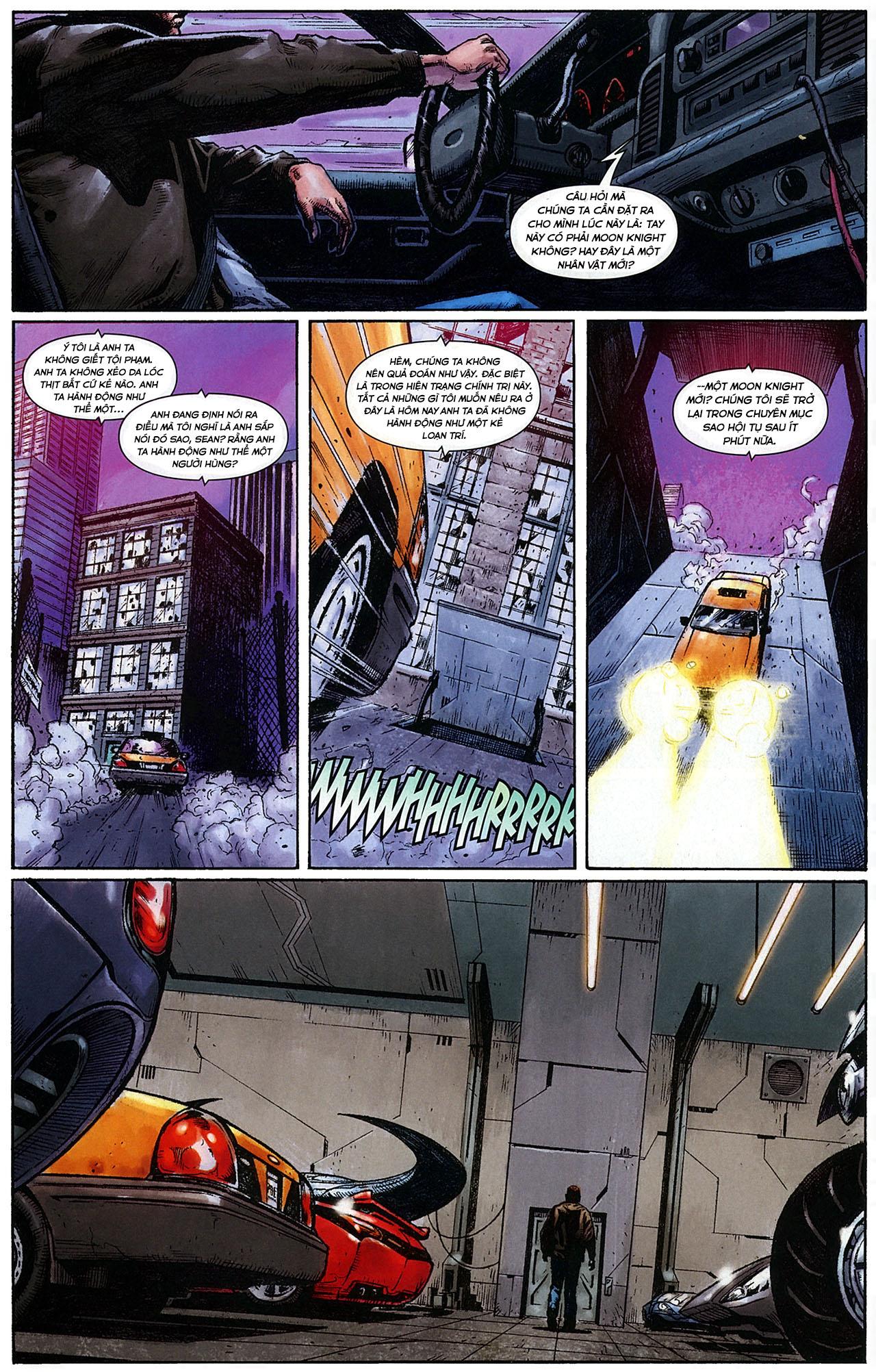 Đòn Thù của Moon Knight Chap 1 - Next Chap 2
