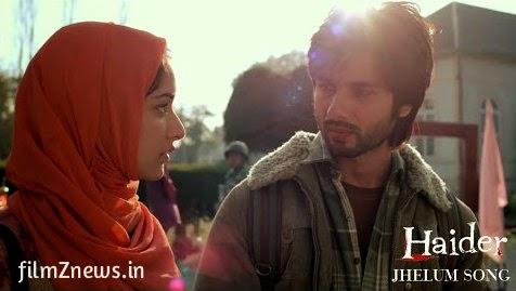 Jhelum Video Song from Haider (2014) feat, Shahid Kapoor & Shraddha Kapoor