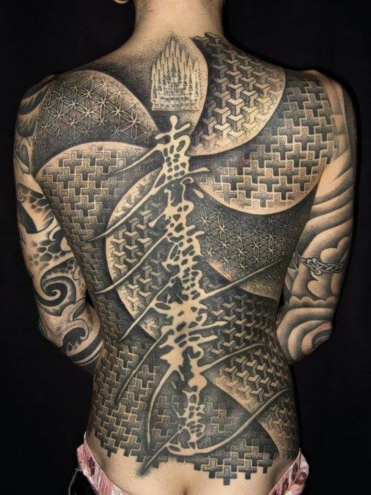 50 Epic Back Tattoos for Men