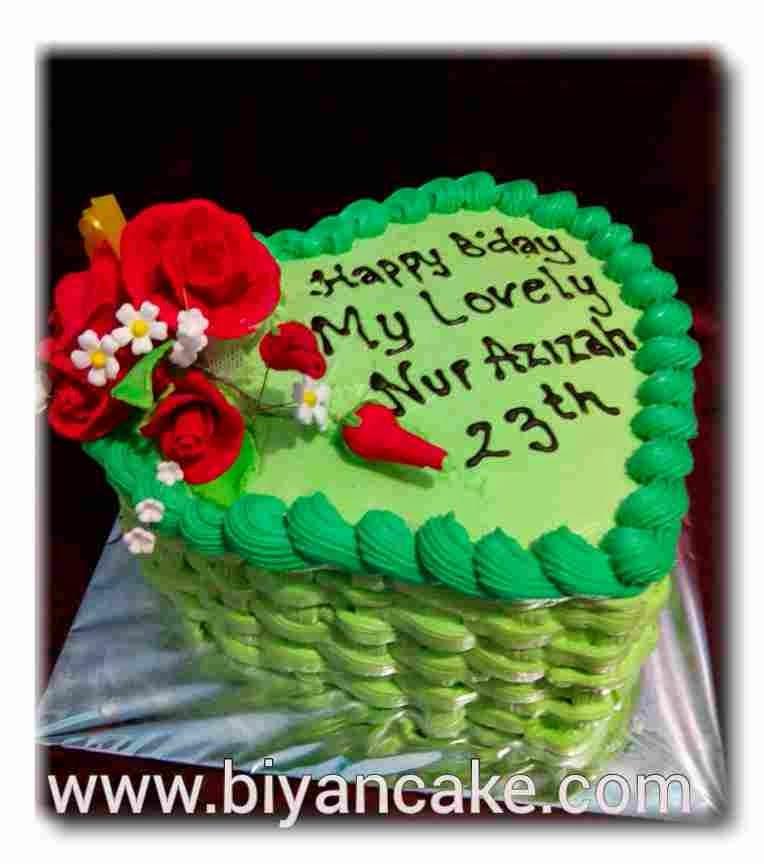 cake love green