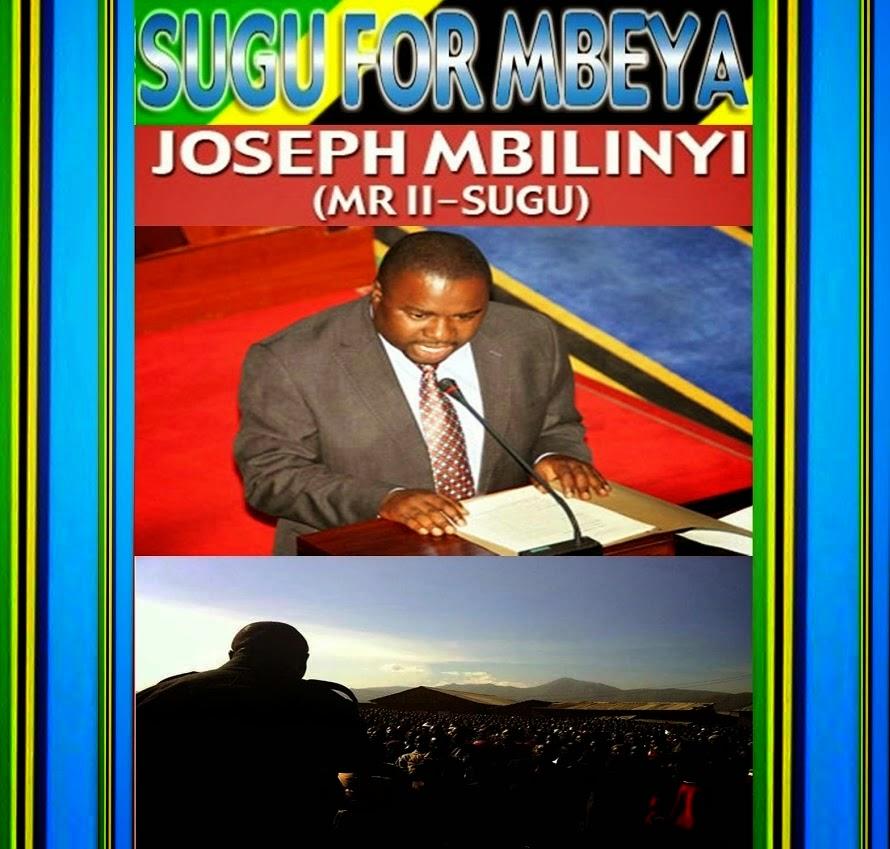 Joseph Mbilinyi (Mr II - SUGU)