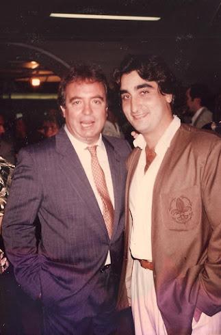 Con Dyango en Galerias Toledo de Madrid, año 1998