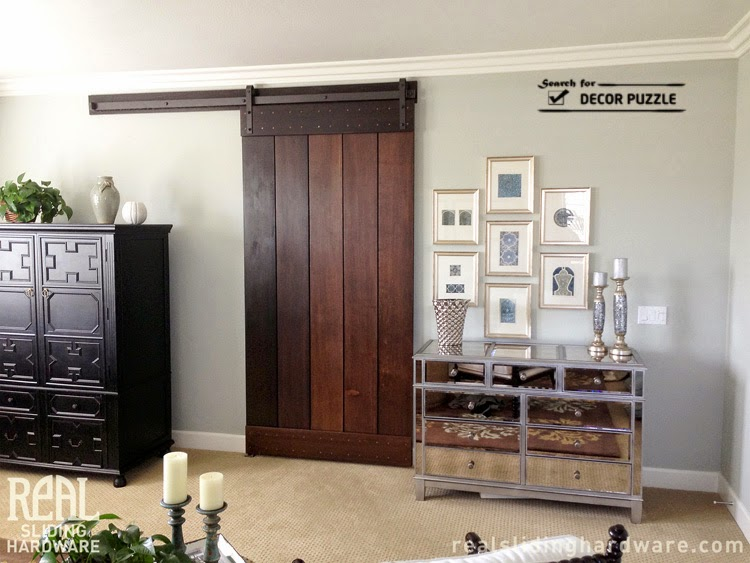Old Barn Doors   Interior Sliding Barn Door Designs