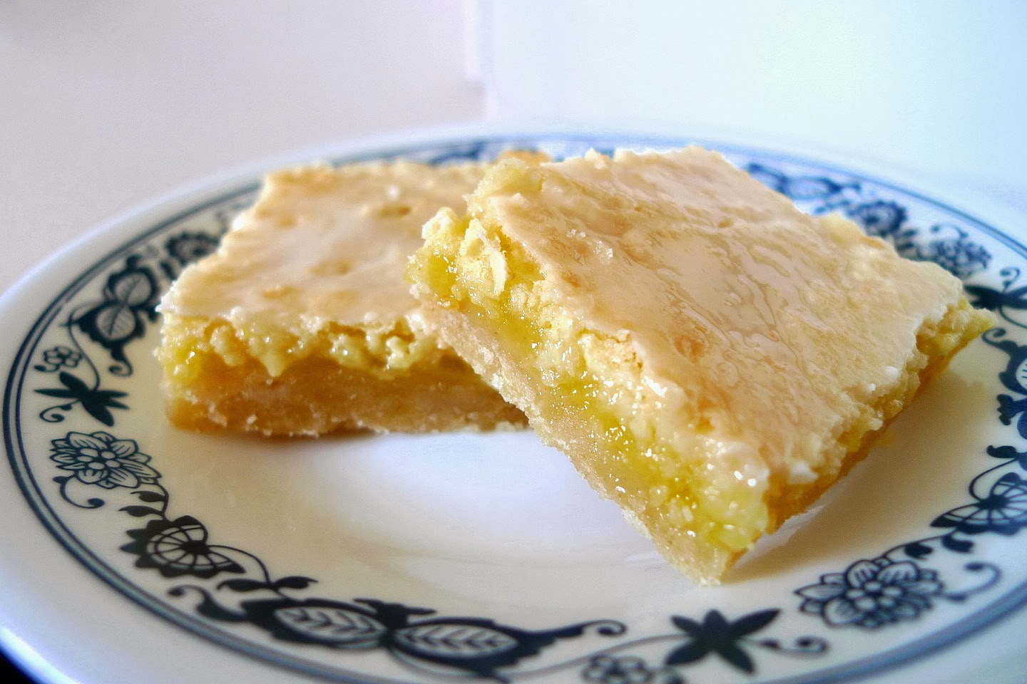 SWEET AS SUGAR COOKIES: Glazed Lemon Squares