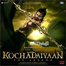 Rajini Stunt With Shark In Kochadaiyaan