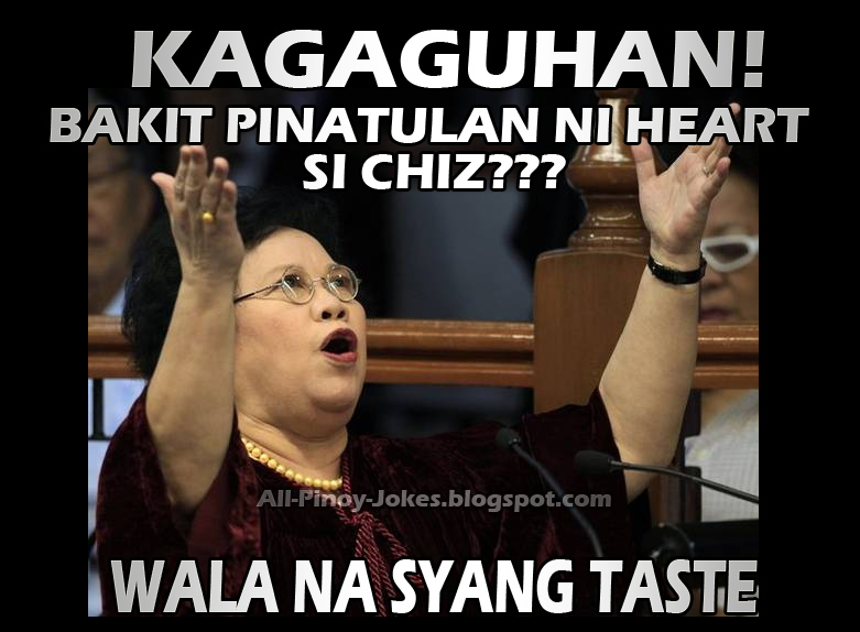 funny senator mirriam defensor meme heart chiz love life senate pinoy jokes photos 2013 funny senator mirriam santiago meme funny pinoy jokes atbp