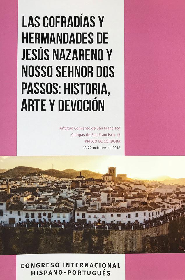 """PROGRAMA en PDF.- Congreso Internacional Hispano-Portugués: """"Las Hermandades y Cofradías de JHS"""