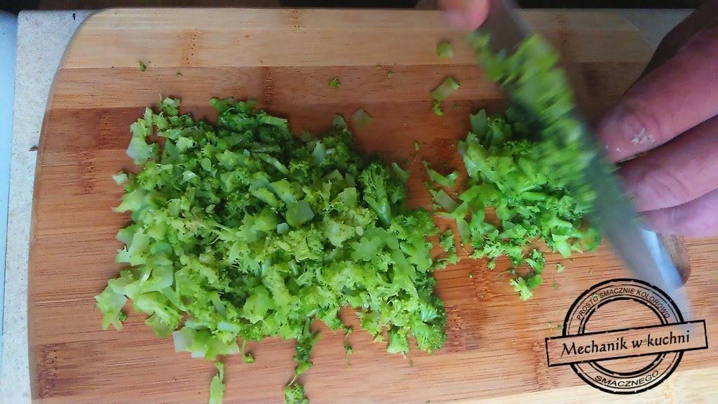Shrek'owe kotleciki z brokuła mechanik w kuchni