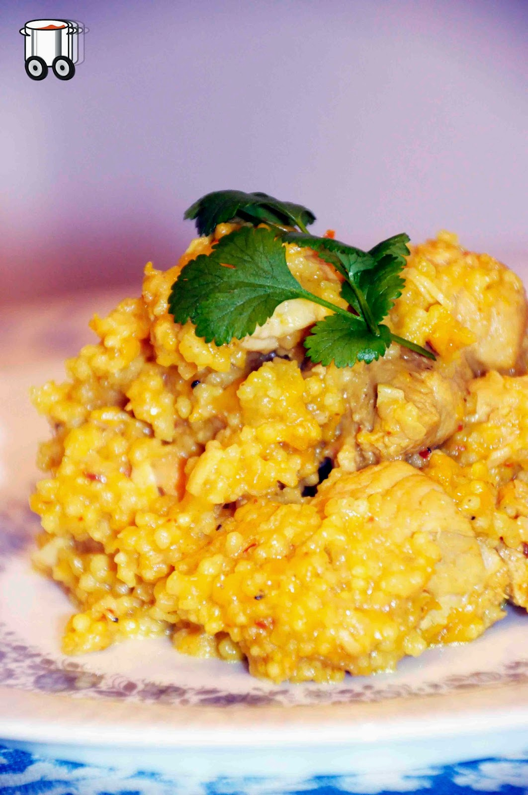 Szybko Tanio Smacznie - Kurczak z brzoskwiniami w sosie curry