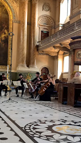 Members of the Benyounes and Piatti Quartets at Royal Greenwich String Quartet Festival