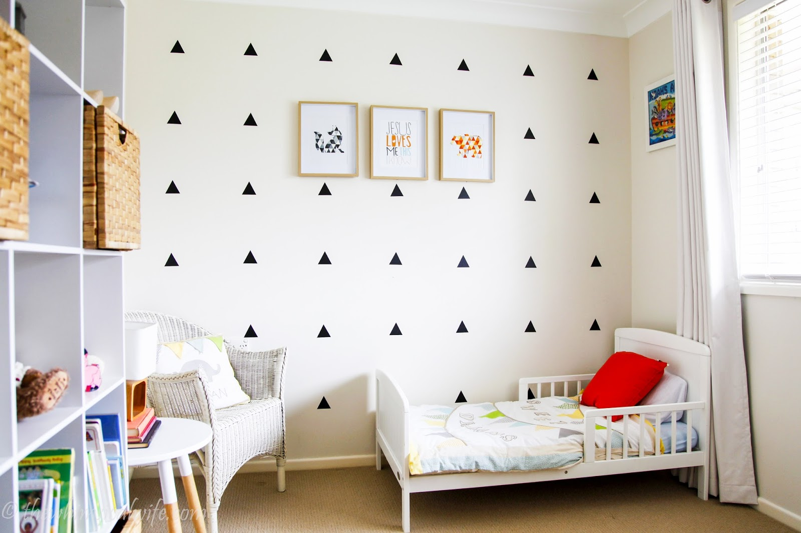 little boys scandi style room reveal the whimsical wife