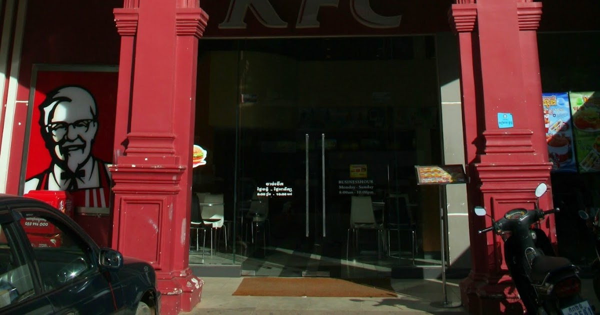 kfc in cambodia There's not as much money to be made in cambodia but there probably will be some there soon as their tourism market is starting to boom with further development in the islands mcdonald's isn't even cheap in southeast asia, it's way cheaper to get streetfood than to get a burger at mcdonald's in thailand.