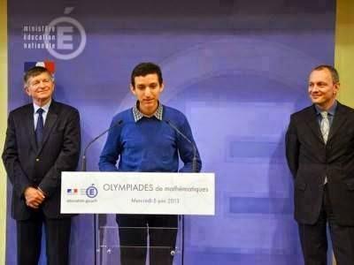 ياسين حماوي تلميذ مغربي يفوز بالأولمبياد الدولية للرياضيات بالفرنسية