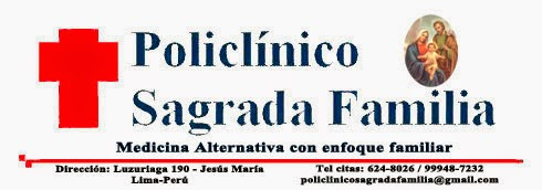 BOLETIN POLICLINICO SAGRADA FAMILIA