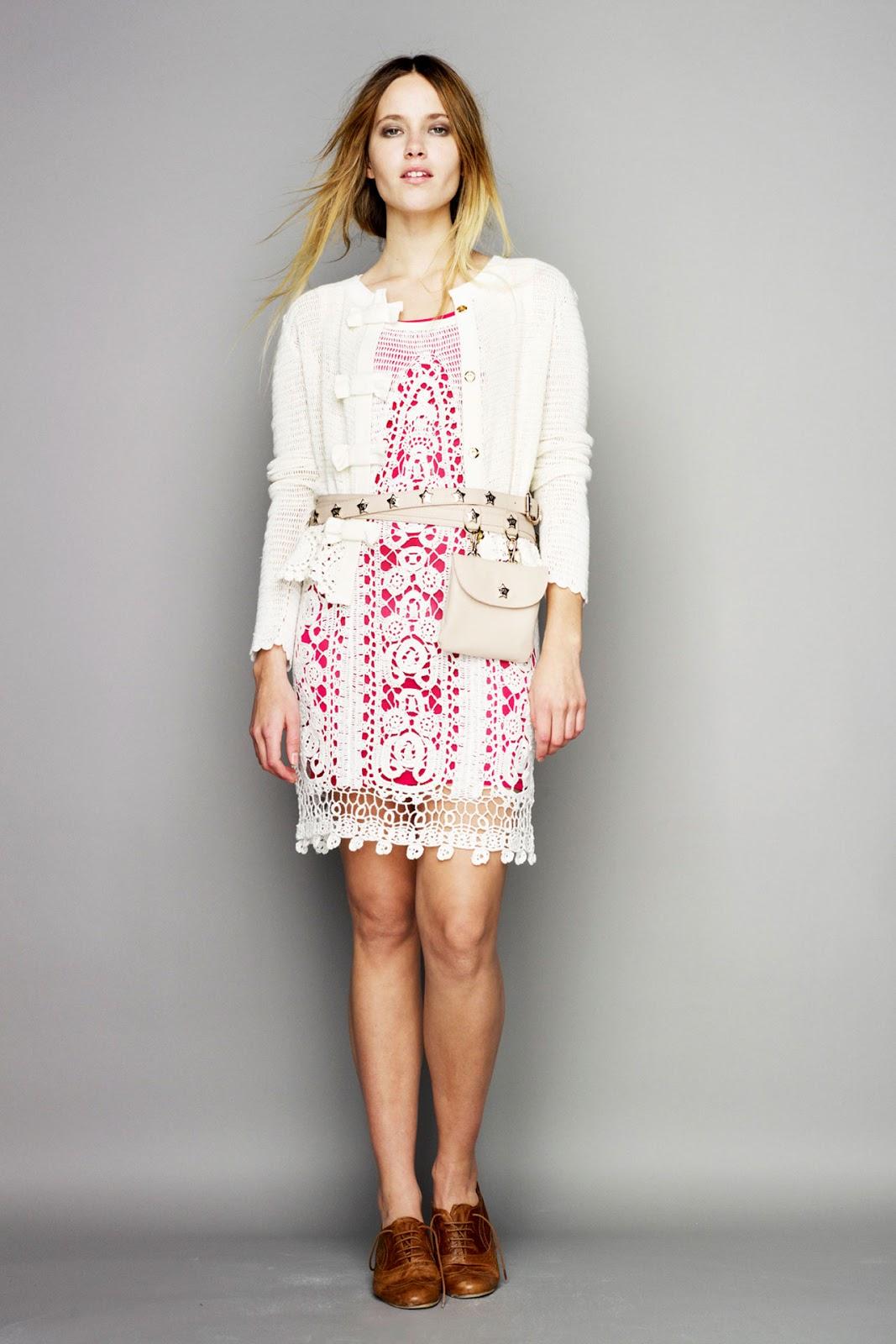 Как связать спицами платье 42 размера