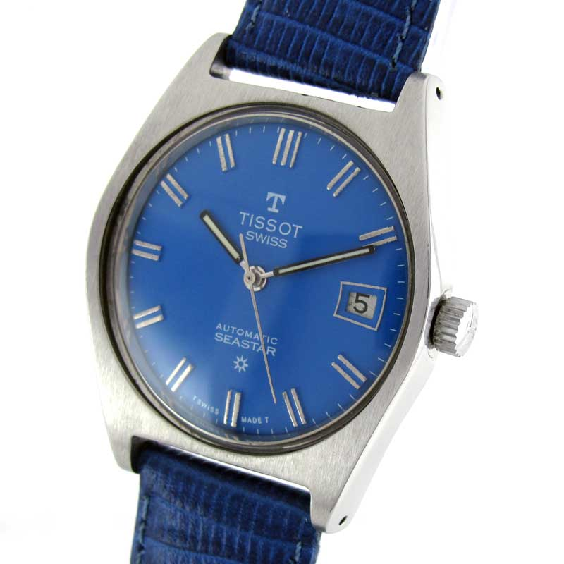 how to change the date on a tissot watch