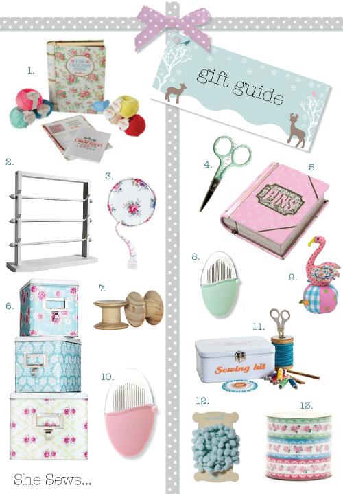 Gift Guide 2011 - She sews...