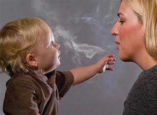 التدخين يؤثر سلبا على ذكاء الاطفال