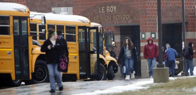 Uma escola nos EUA teve um episódio de histeria em massa