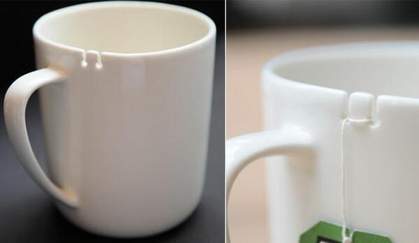 12 Designs de canecas super criativos suporte para chá