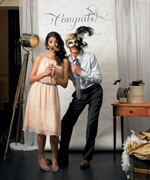 Wedding Photo Booth Backdrop