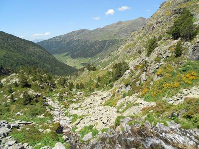 Andorra hike trail