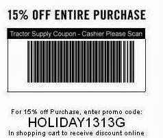 Tractor Supply Co | December Promo Codes, Sales, And Discounts 2018