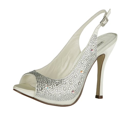 All Crystal Bridal Shoes by Benjamin Adams