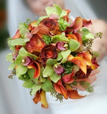 Autumn Bridal Bouquets2