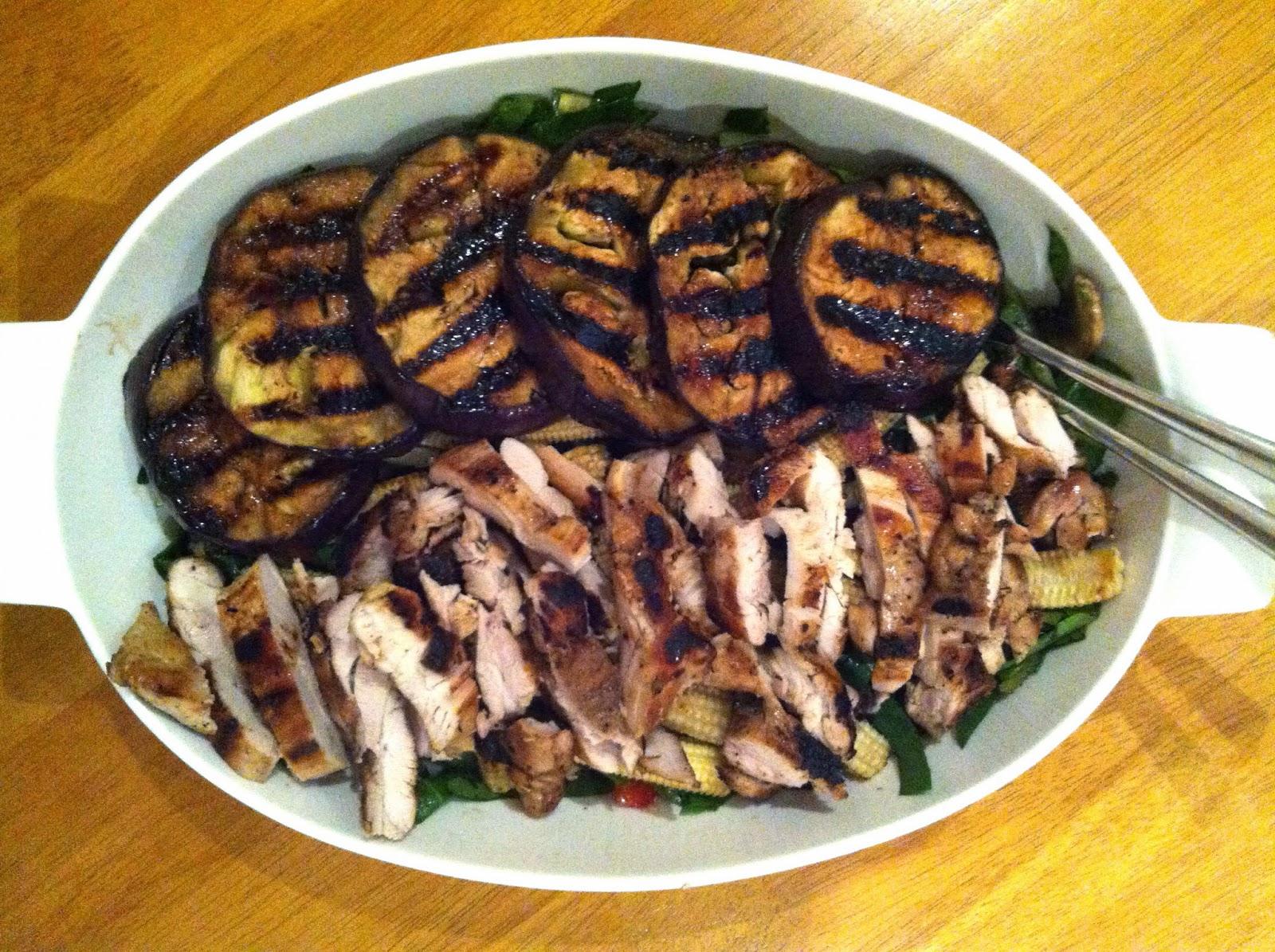 recipe: grilled chicken eggplant [22]