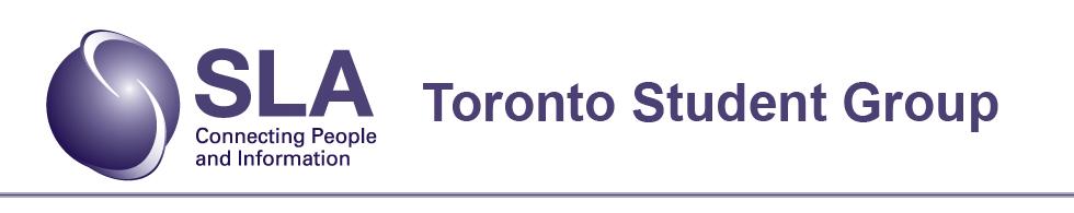 SLA-Toronto Student Group (TSG)