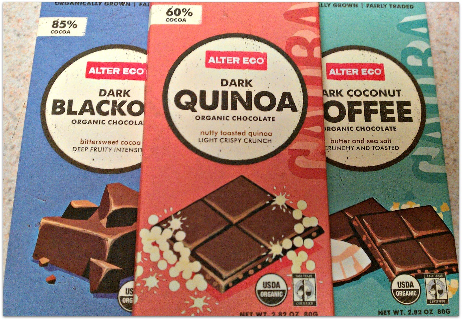my name is Sage: Product Review: Alter Eco (chocolate and quinoa ...