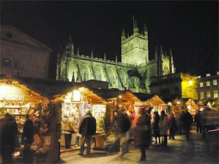 Bath Christmas Market, Bath, UK