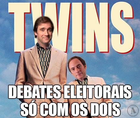 Paulo Portas e Passos Coelho: Debates eleitorais só com os dois