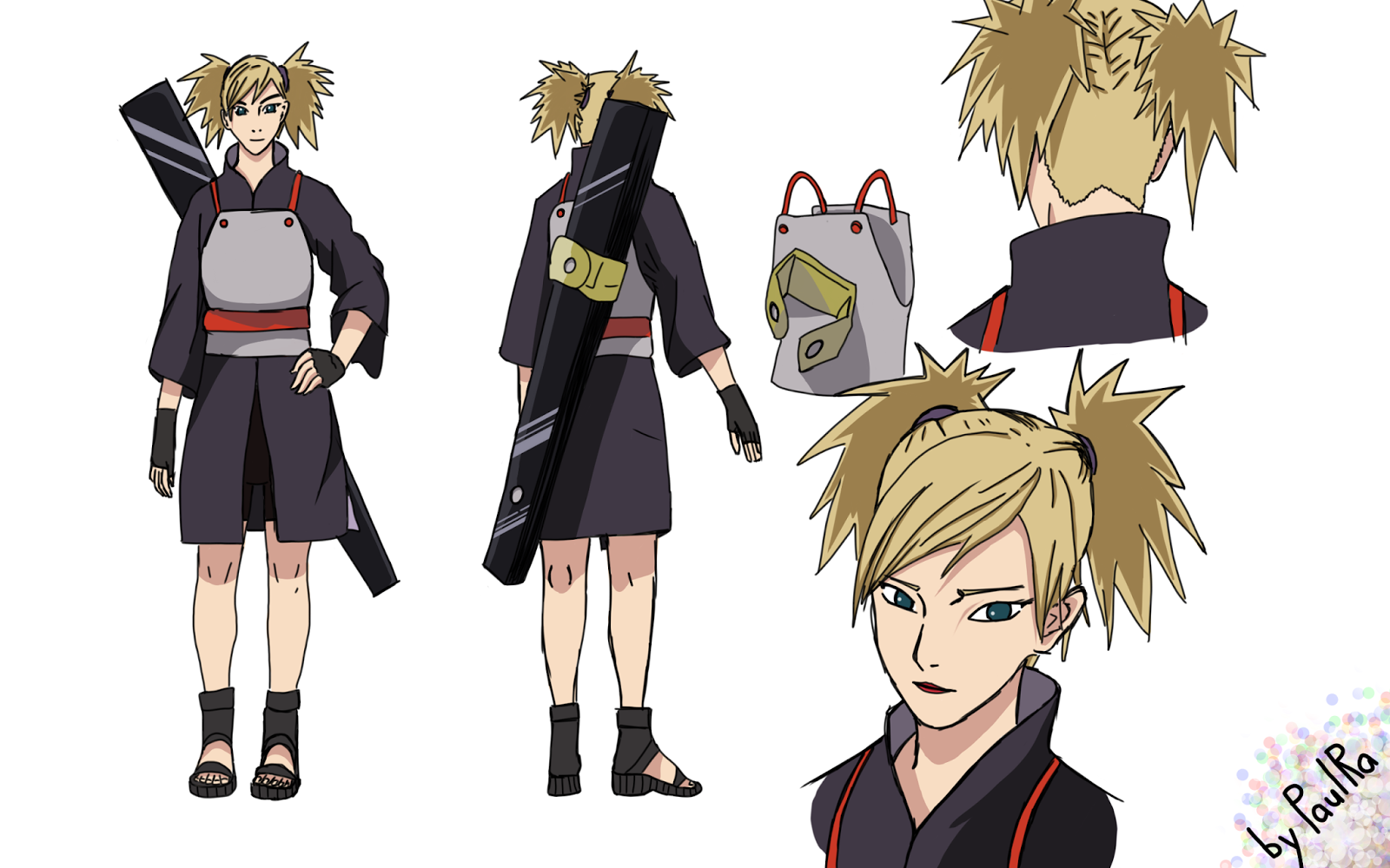 Character Design Naruto The Last : Sharpen your sickle at sunset naruto the last temari