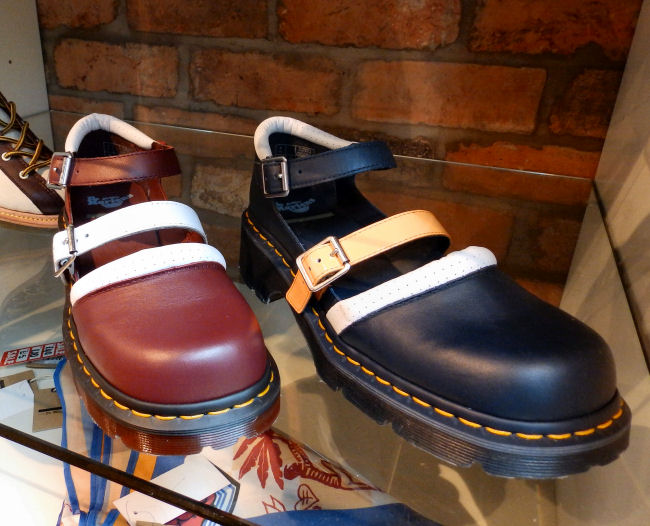 Dr Martens Liverpool One store review Agyness Deyn Aggy Strap shoe