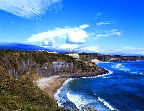 Bãi biển Jungmun   중문 해수욕장