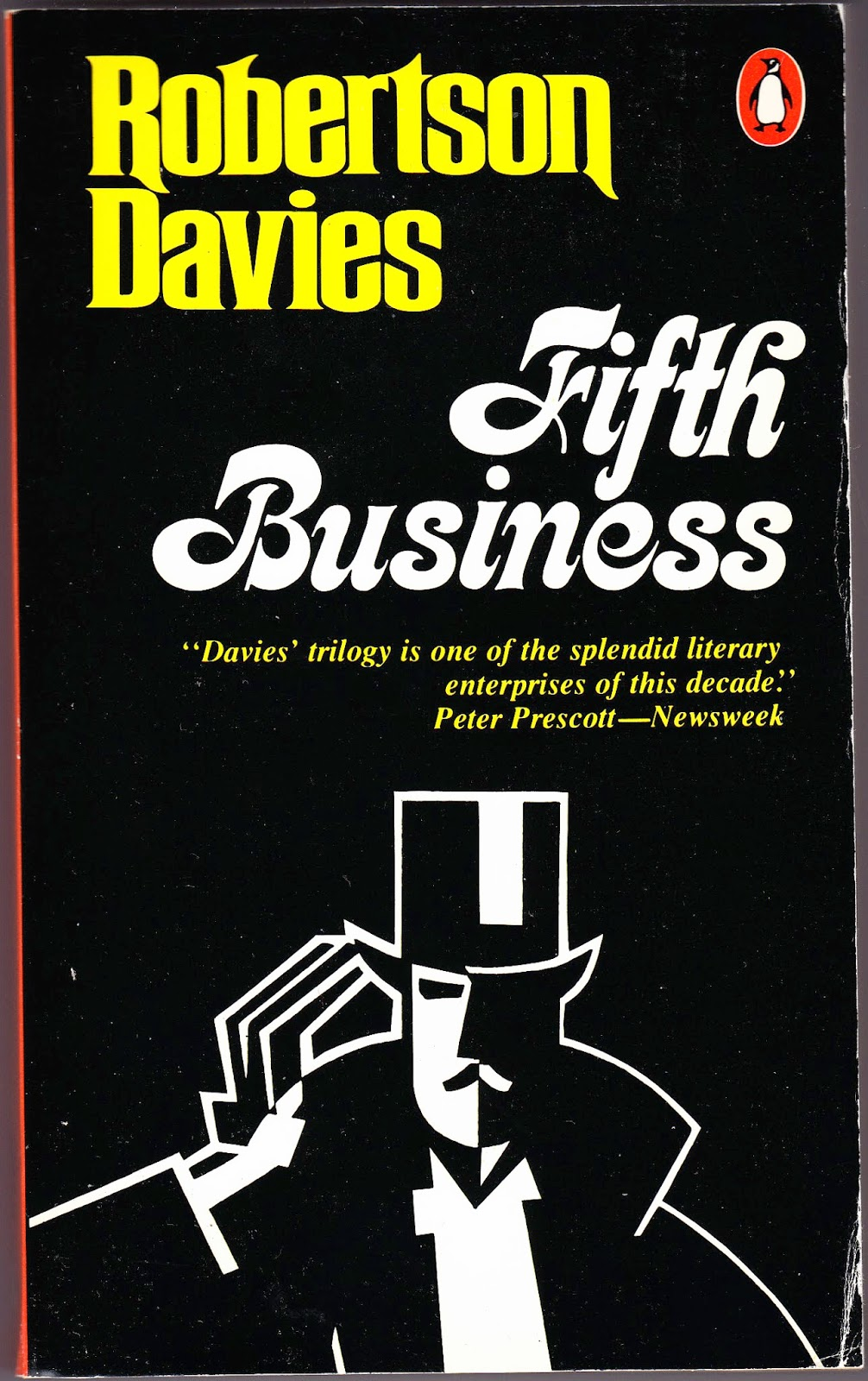 a main theme of guilt in the novel fifth business by robertson davies In the fifth business, by robertson davies, guilt is a theme that runs throughout both the fifth in fifth business, robertson davies displays how the main character, dunstan ramsay's throughout the novel, the author, robertson davies, demonstrates how guilt can stick with you for.