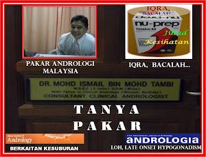 NU-PREP TANYA 'PAKAR ANDROLOGI MALAYSIA' DR ISMAILTAMBI - 'Consult A Specialist'